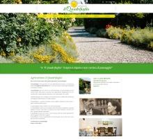 sito web per agriturismo