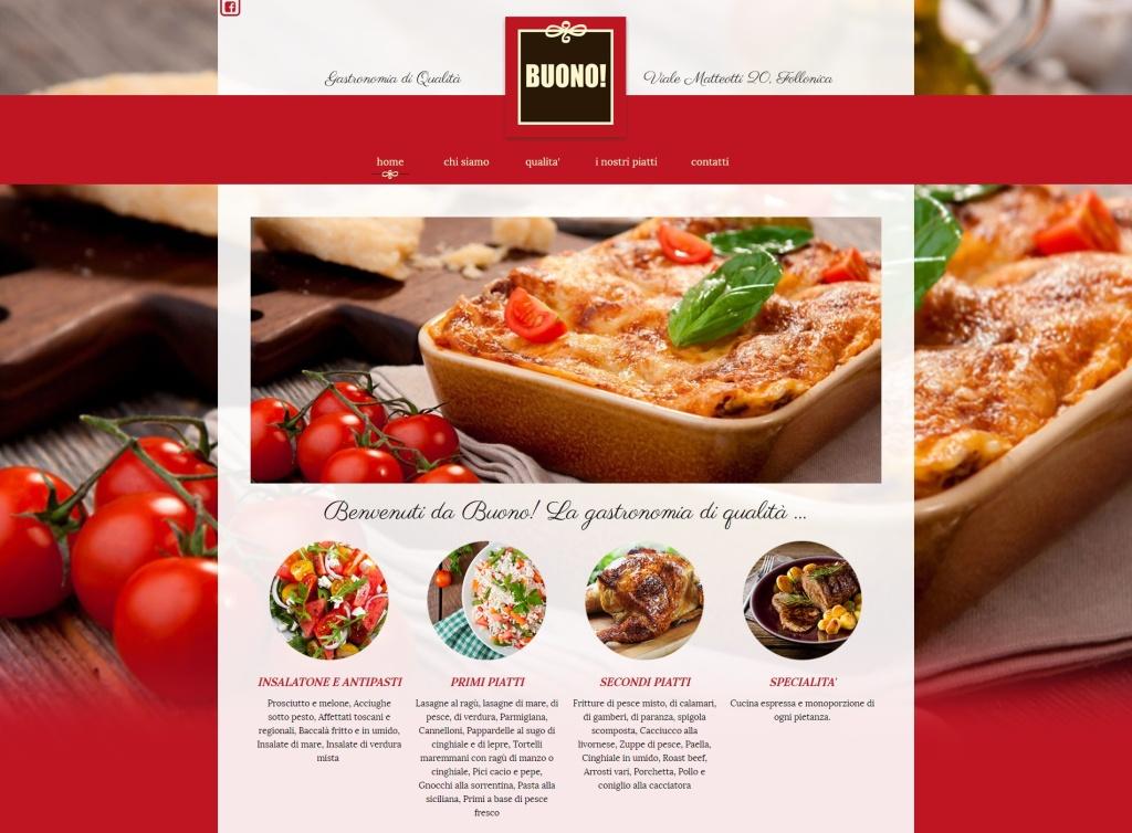 brand e sito web gastronomia