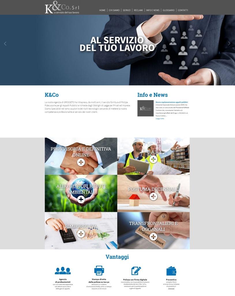 realizzazione sito web servizi