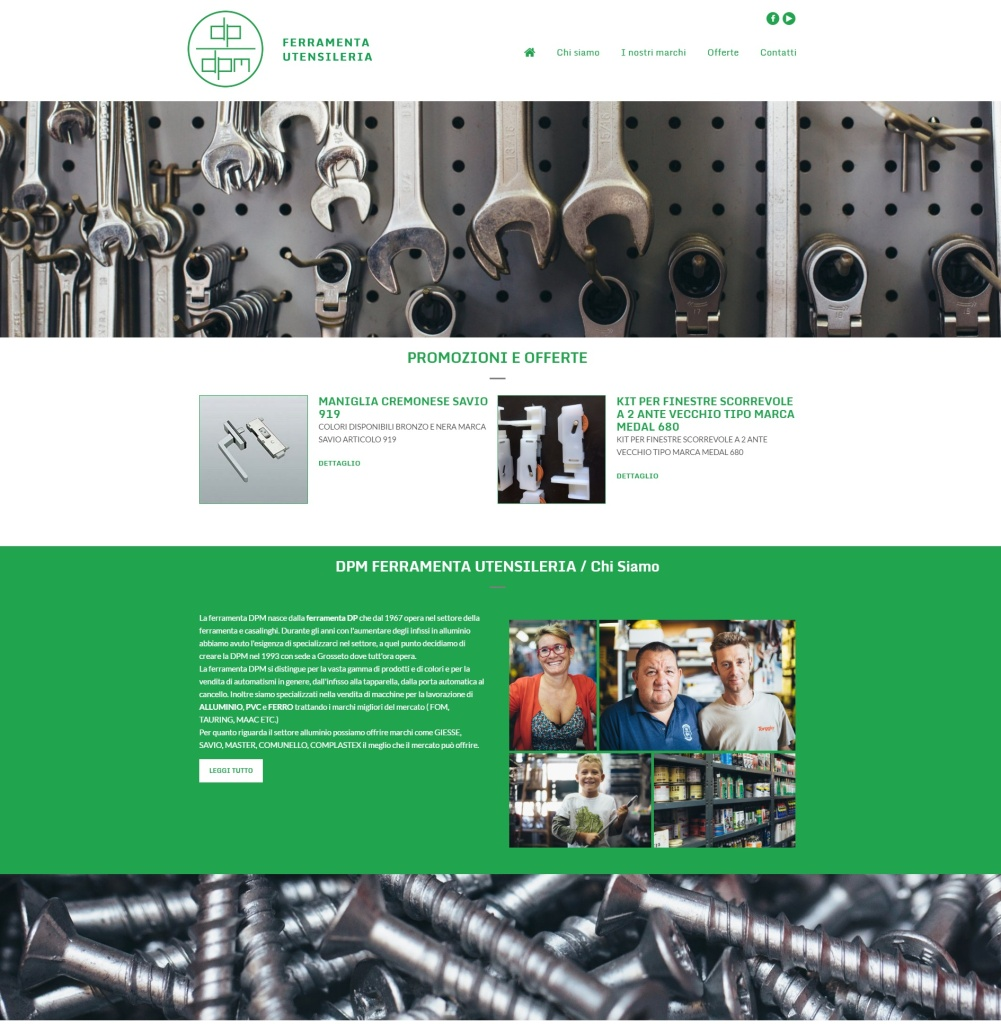 sito web ferramenta
