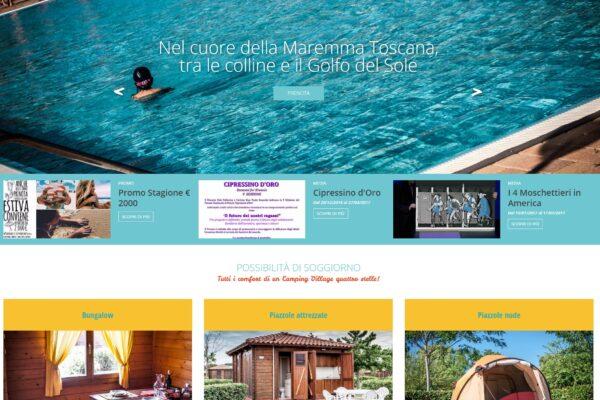 sito web campeggio