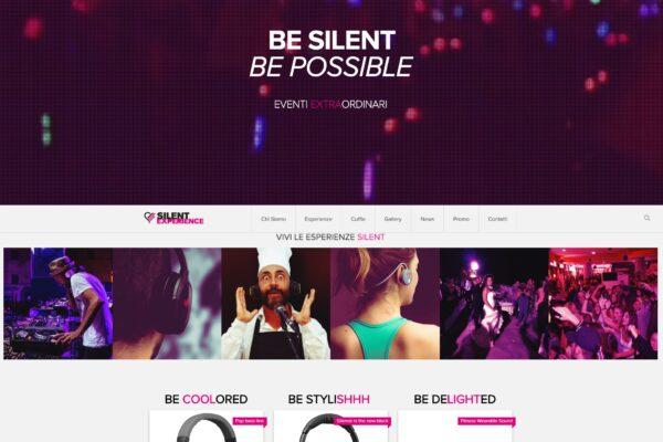 sito web organizzazione eventi
